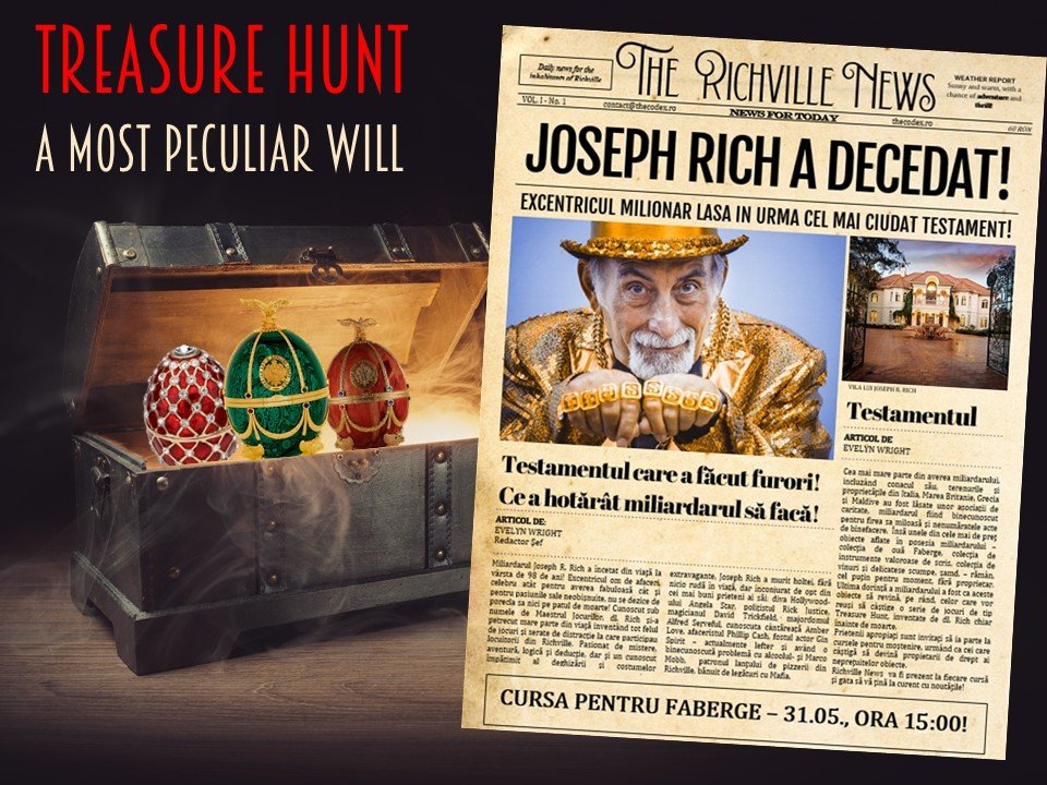 Treasure Hunt - A Most Peculiar Will